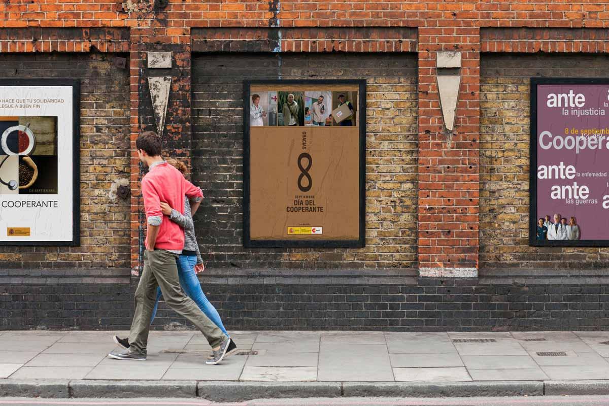Campaña Gráfica, cartelería para empresa pública