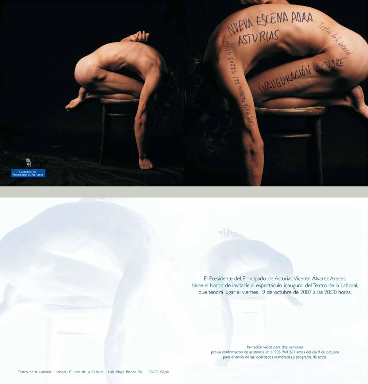 Proyectos Gráficos, publicidad invitacion para espectáculos Valencia