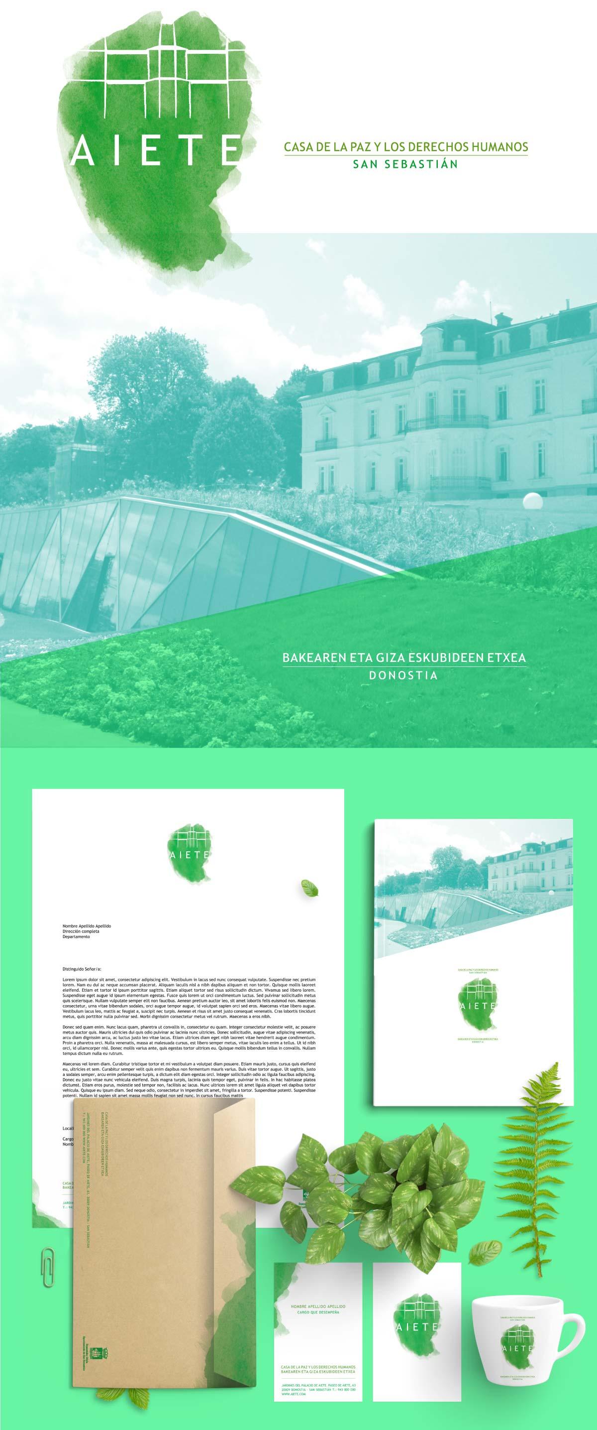 Diseño de identidad corporativa para parque de la cultura